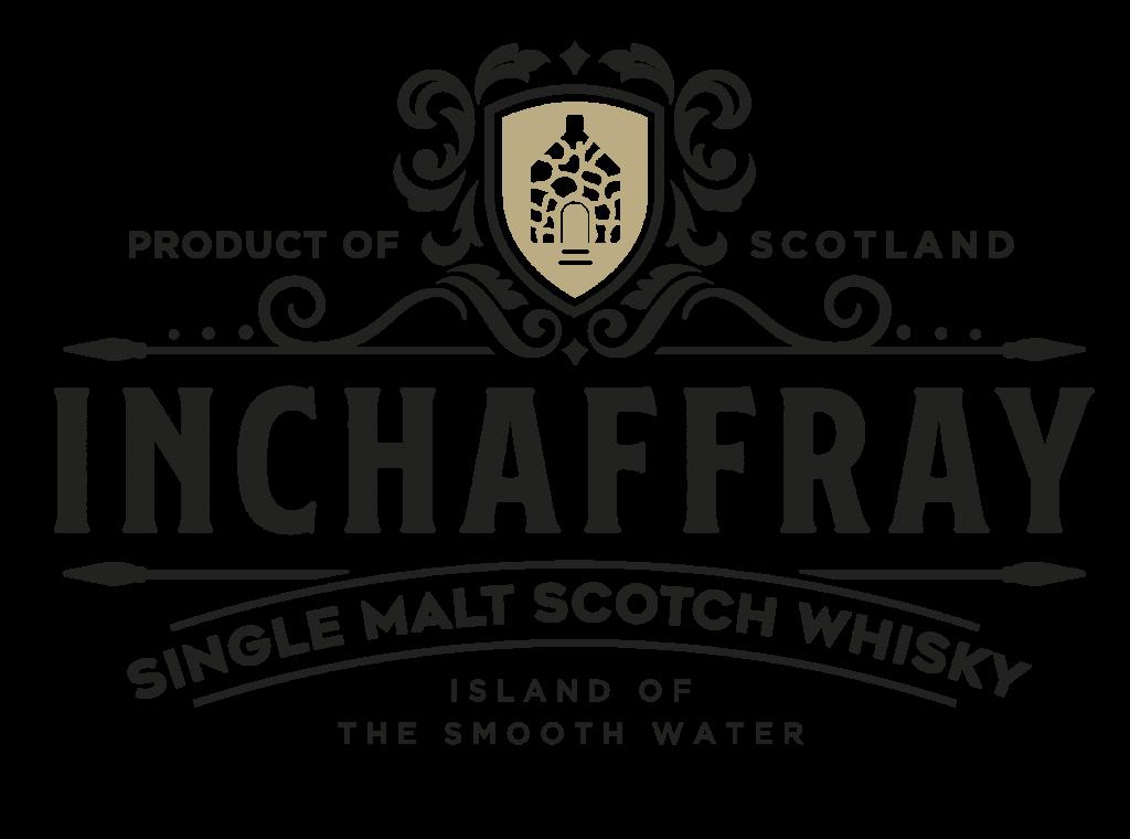 Inchaffray Logo White Gold